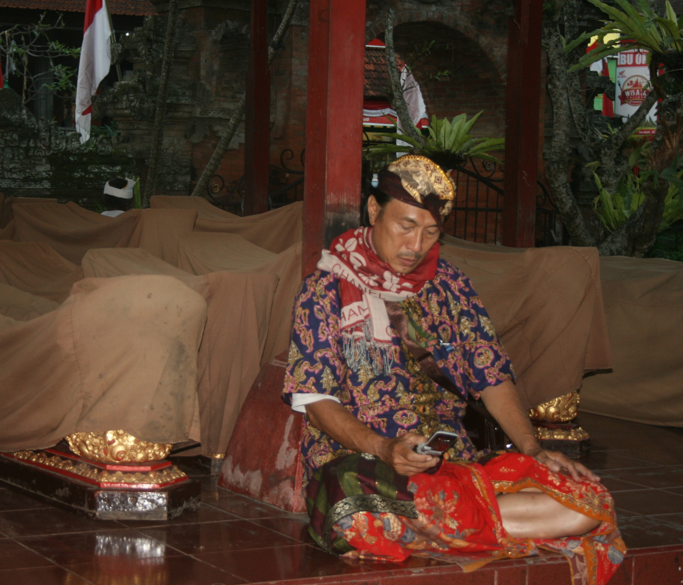 Balinesischer Tänzer (c) DM