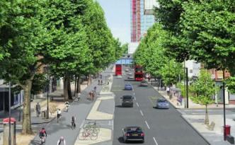 In London soll die längste Fahrradautobahn der Welt entstehen.