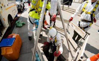 Überflutungen des Abwassersystems bei Regen sind in London häufig. Der Super Sewer soll Abhilfe schaffen.