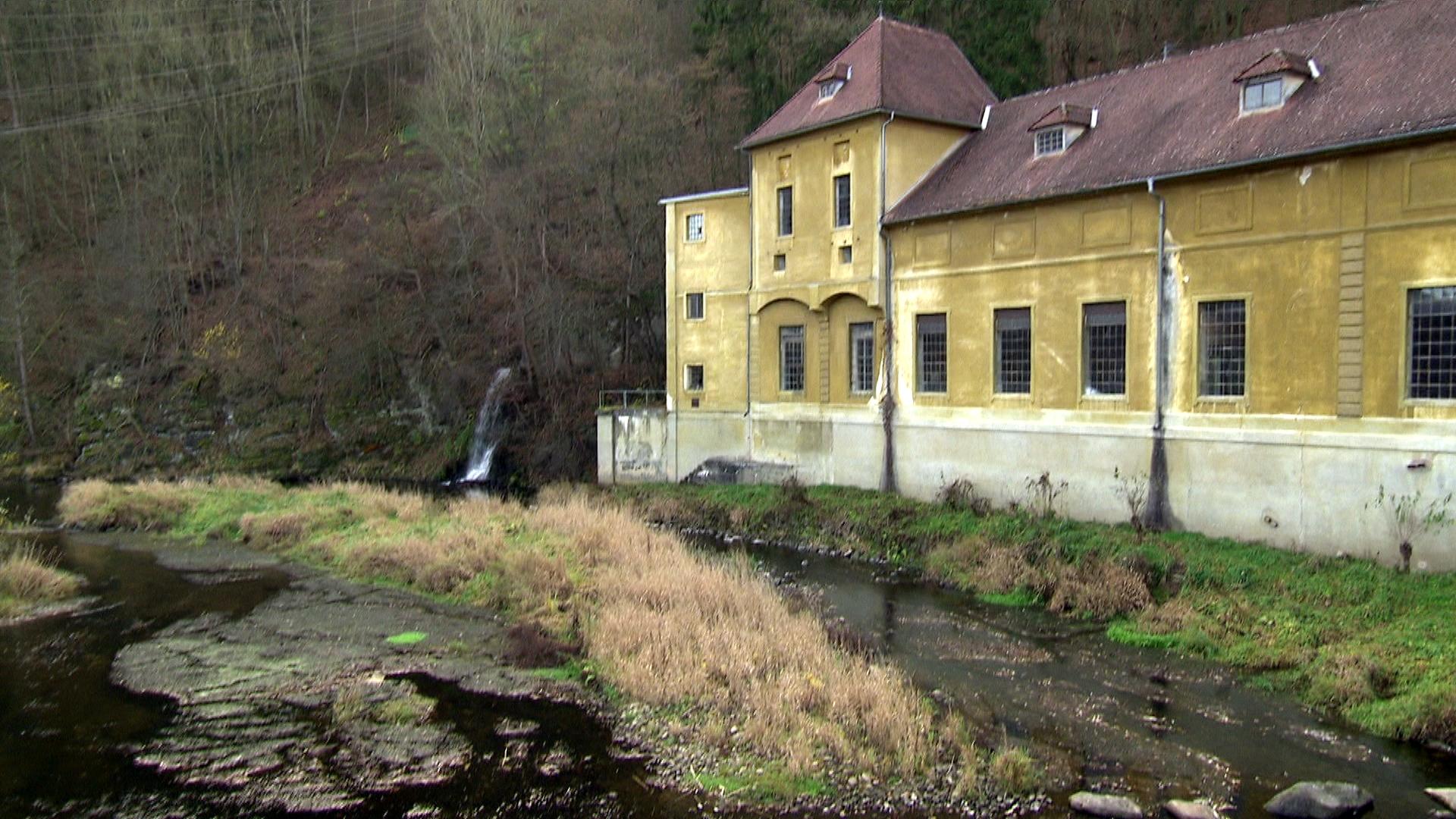 Das Kraftwerk in Rosenburg
