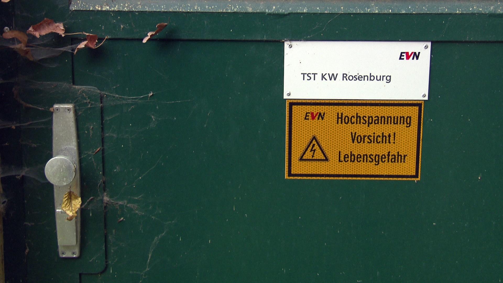 ...das Kraftwerk gehört der EVN.