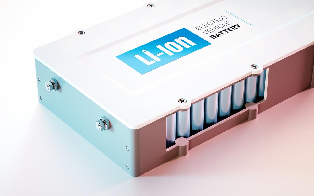 Lithium-Batterie für Elektroautos (c) Shutterstock